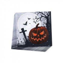 """Serviettes Halloween """"Cimetière"""" (x20)"""
