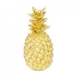 Ananas Or en résine - 18 cm
