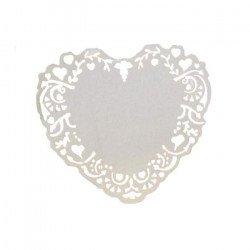 Marque-places coeur cadre (x10)