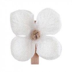 Orchidée sur pince (x6)