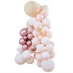 "Guirlande de ballons ""Palm & Nude"""