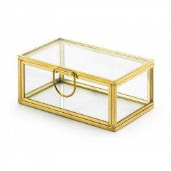 Boîte à alliances en verre