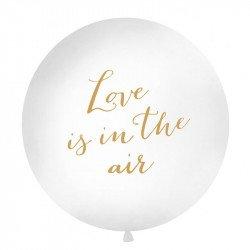 "Ballon rond XXL ""Love is in the air"" - 1M"