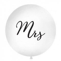 """Ballon rond """"Mrs"""" - 1M"""