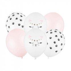 Ballons Chat (x6)