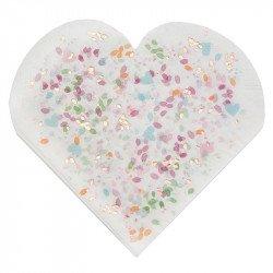 """Serviettes """"Fleurs"""" (x20)"""