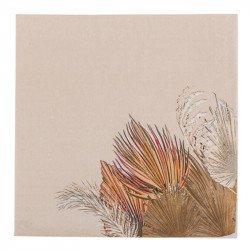 Serviettes Palm Leaf (x16)