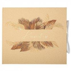 Livre d'or palm leaf
