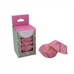 Moules à cup cakes Vintage Lilas avec son emballage (x100)