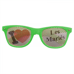 """Lunettes """"I love Les mariés"""""""