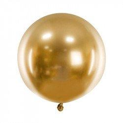 Ballon XL rond chromé - 60 cm