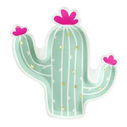 Assiettes Cactus (X6)