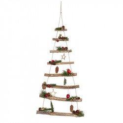 Sapin de Noël en bois - 1,10M