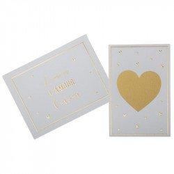 """Cartes à gratter """"L'Amour"""" (x5)"""