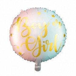 """Ballon """"Boy or Girl ?"""" - 35 cm"""