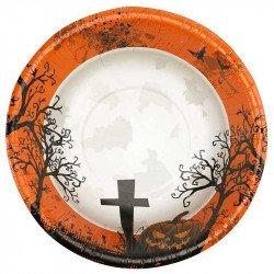 "Bols Halloween ""Cimetière"" (x8)"