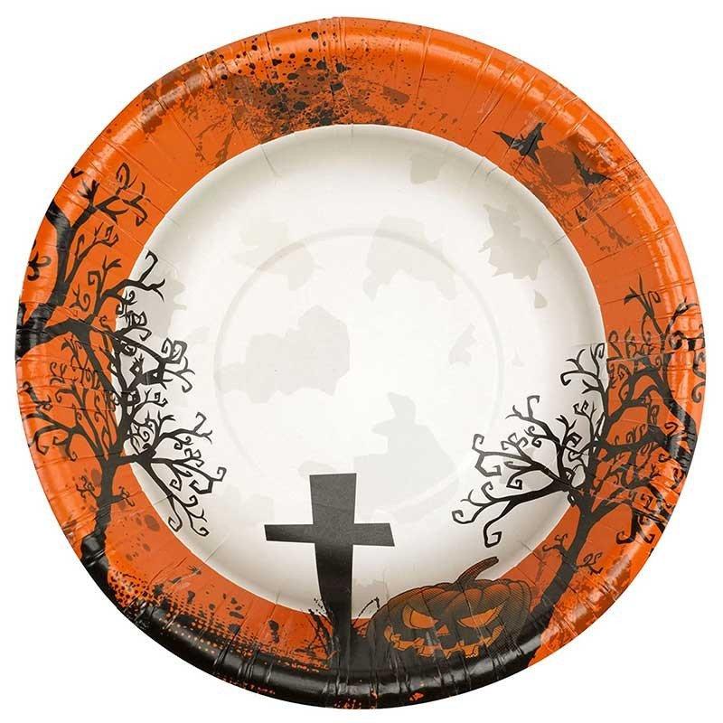 "8 bols Halloween ""Cimetière"""