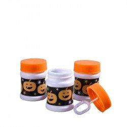 Pots à bulles Halloween citrouille (x6)