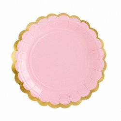 Assiettes Pastel - 18 cm (x6)