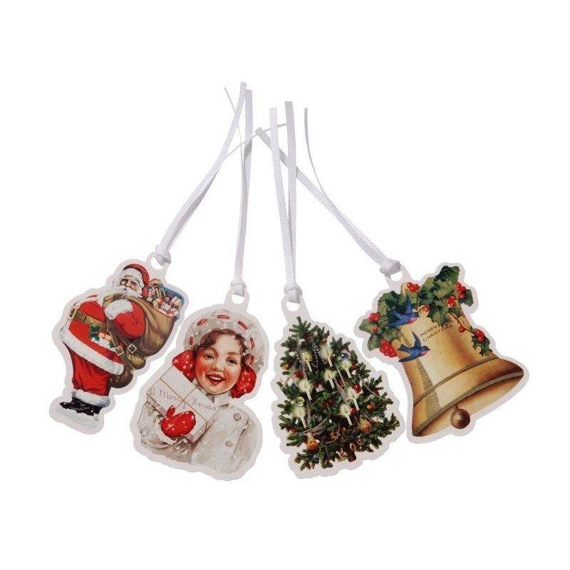 Etiquettes cadeaux - 8 unités