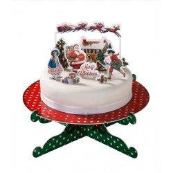 Drapeau Noël - 12 unités
