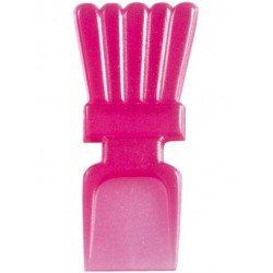 Cuillères mini translucides (x25) - Rose