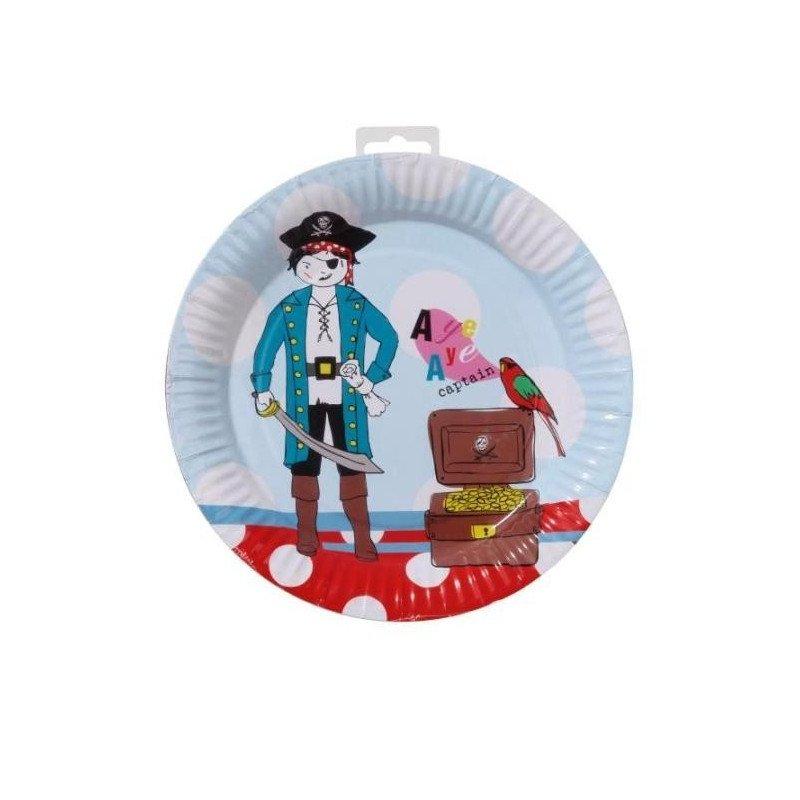 Assiette Pirate
