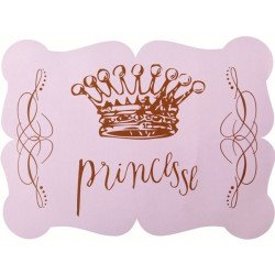 Sets de table Princesse Couronne (x6)