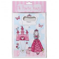 Sacs à cadeaux Princesse (x8)