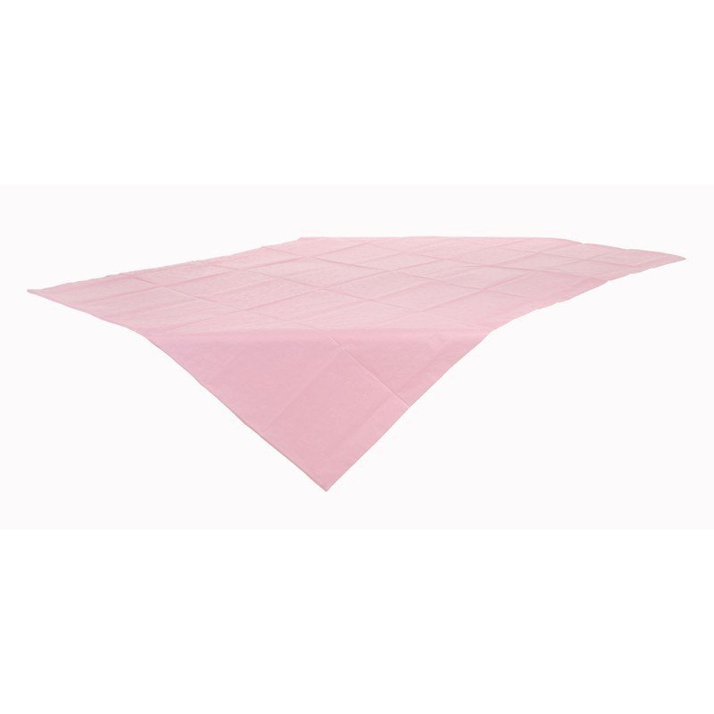 Nappe en papier rose - à l'unité