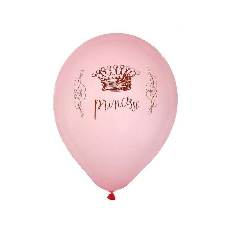 Ballons de princesse (x8)