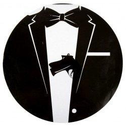 Set de table agent spécial 007 -6 pièces
