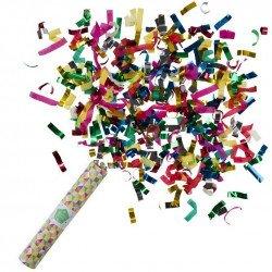 Canon à confetti multicolores