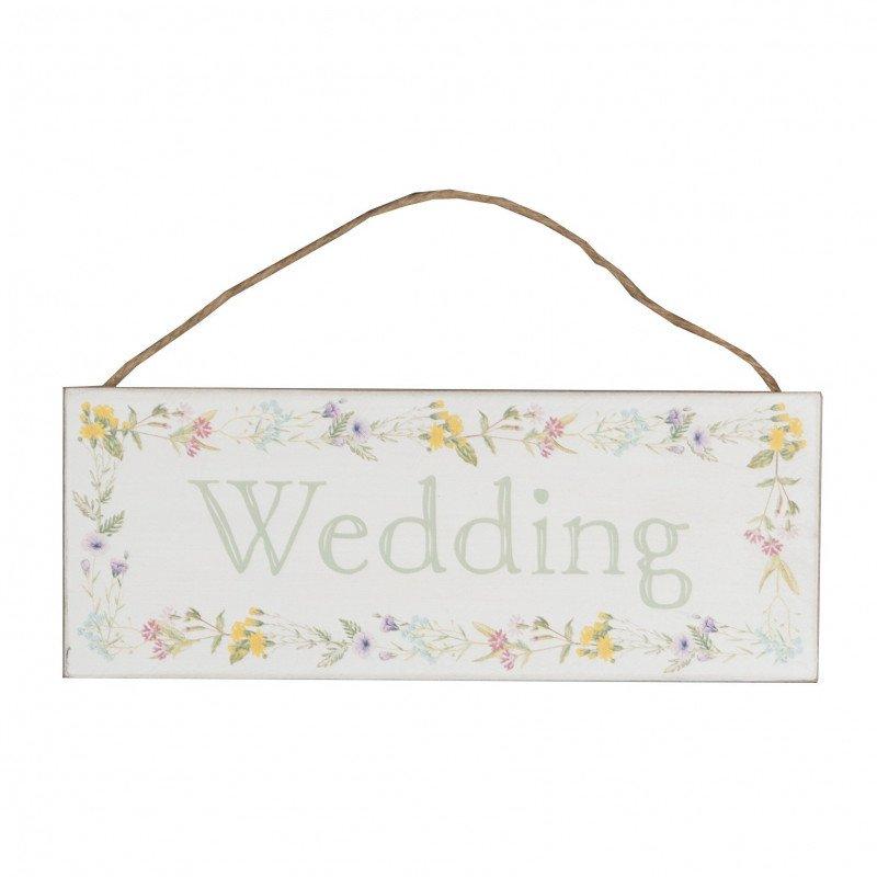 Panneau fleuri wedding