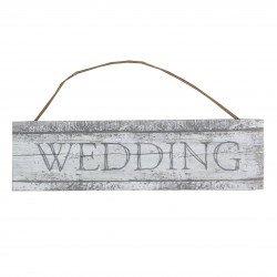 Panneau bois cérusé Wedding