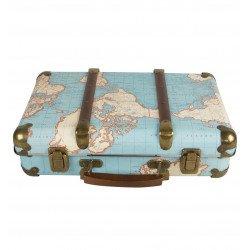 Valise Tour du monde Vintage