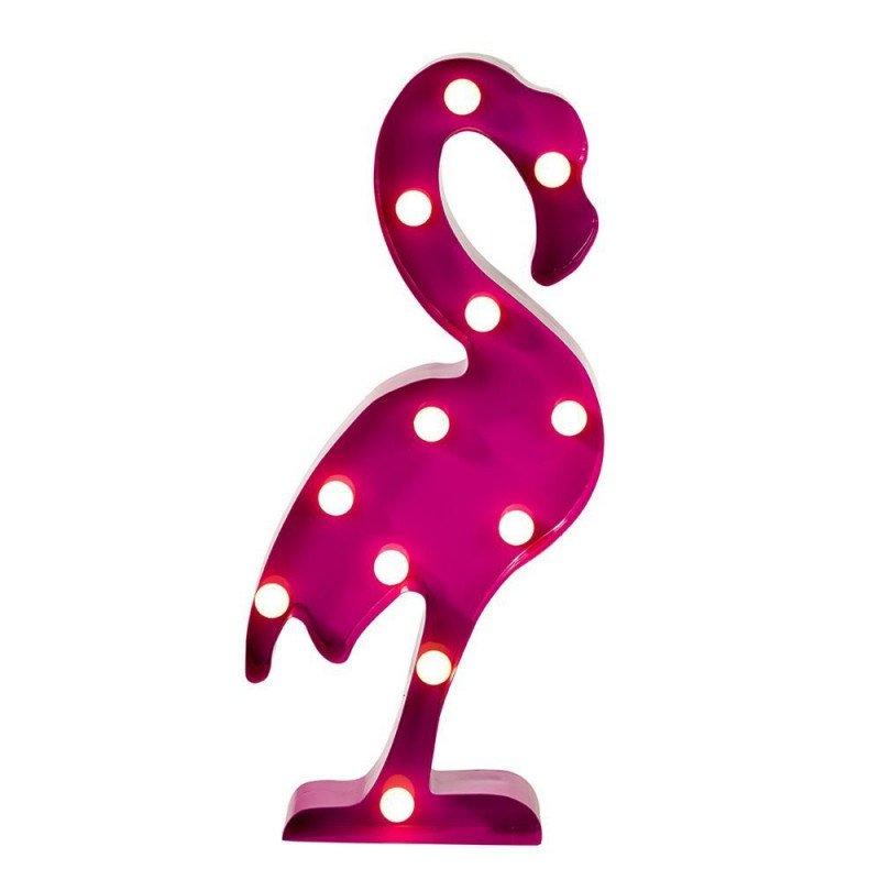 Flamingo flamant rose lumineux