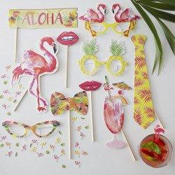 Kit photobooth fiesta tropicale