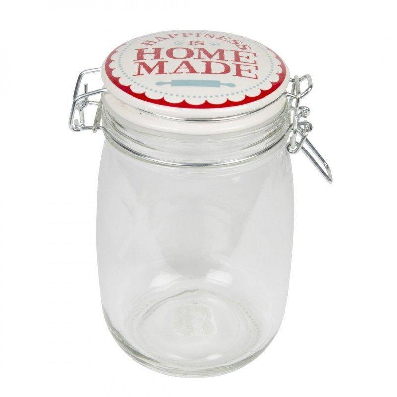 retro happiness is home made jar - à l'unité