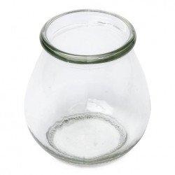 Vase rond en verre