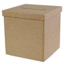 Boîte cadeau Kraft unie
