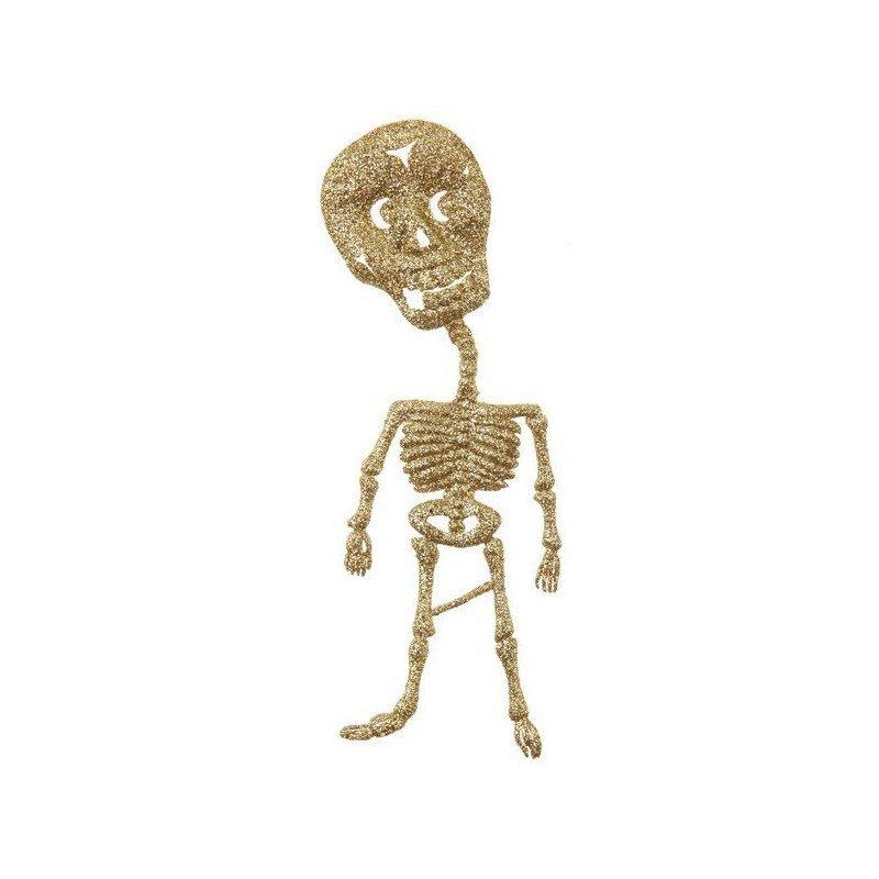 squelette halloween  - 2 pièces