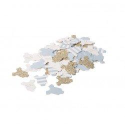 Confettis Petit Body Bébé (x100) - Bleu ciel
