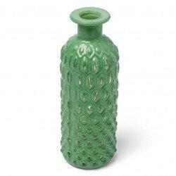 Vase nid d'abeille vert