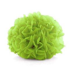 Pompons papier de soie (x3) - Vert