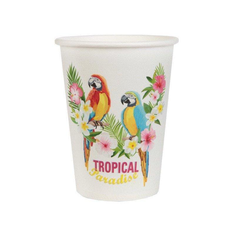 Gobelets tropicaux (x10)