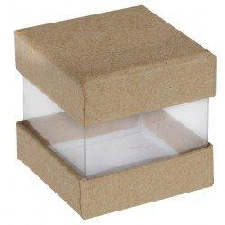 Boîtes cube (x6) - Kraft