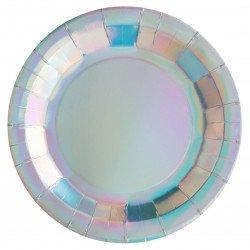 Assiettes holographiques (x10)