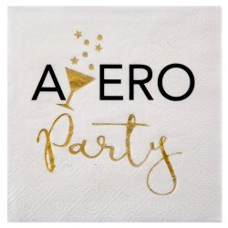 "Serviettes cocktail ""Apéro Party"" (x20)"