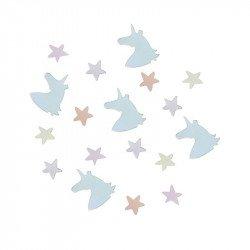 Confettis Licornes